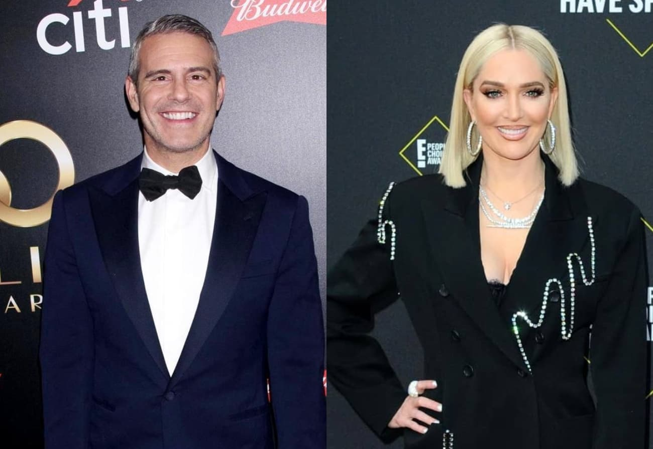 REPORT: Bravo Encouraged Andy Cohen To Grill Erika Jayne At RHOBH Reunion Taping As Source Reveals Network's Strategic Plan
