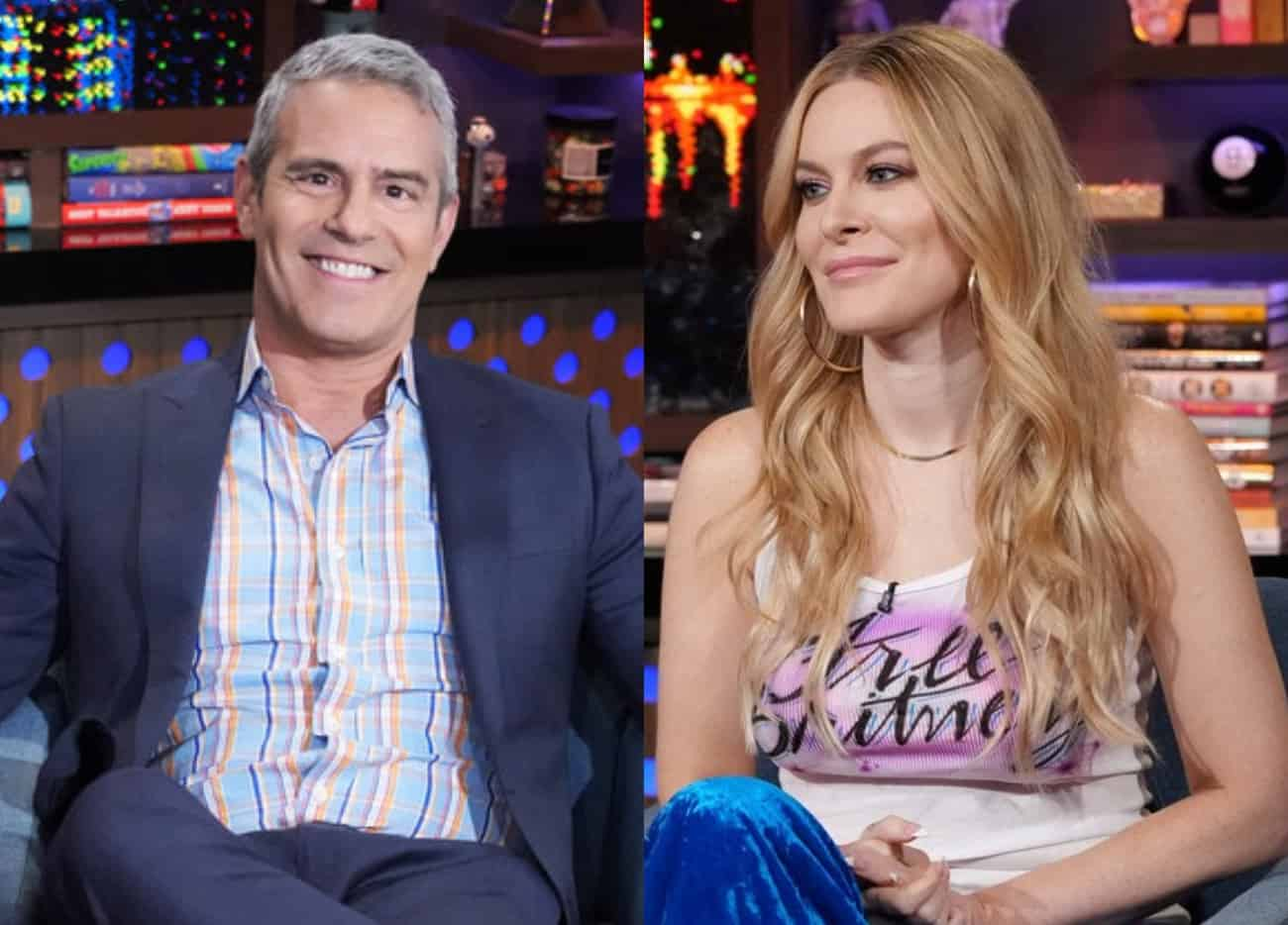 Andy Cohen Admits the Swift Backlash Against Leah McSweeney is Something He's Never Seen as Leah Defends RHONY Cast Against Flip-Flopping Fans Mad About Race Conversations
