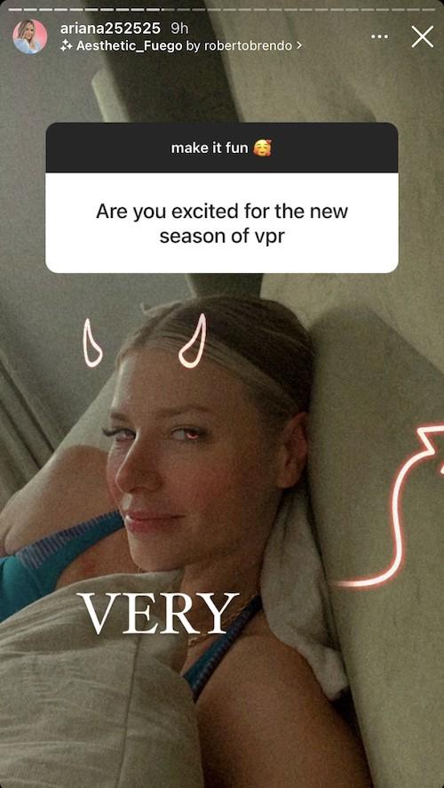 Ariana Madix is Very Excited About Vanderpump Rules Season Nine