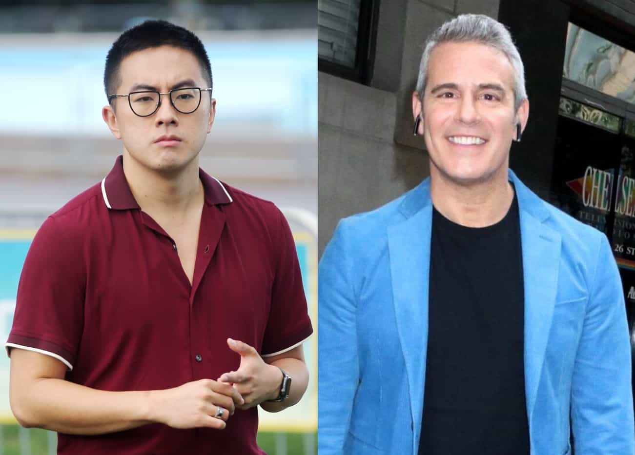 """SNL's Bowen Yang Suggests He's Banned From WWHL for Calling This Housewife a """"White Supremacist"""""""