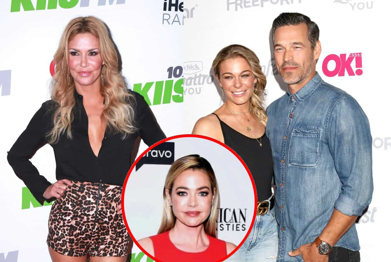 """Brandi Glanville Says She Threatened to Murder LeAnn Rimes Following Singer's Affair With Eddie Cibrian, Claims """"Trust Issues"""" is Why She Exposed Drama With Denise Richards on RHOBH"""