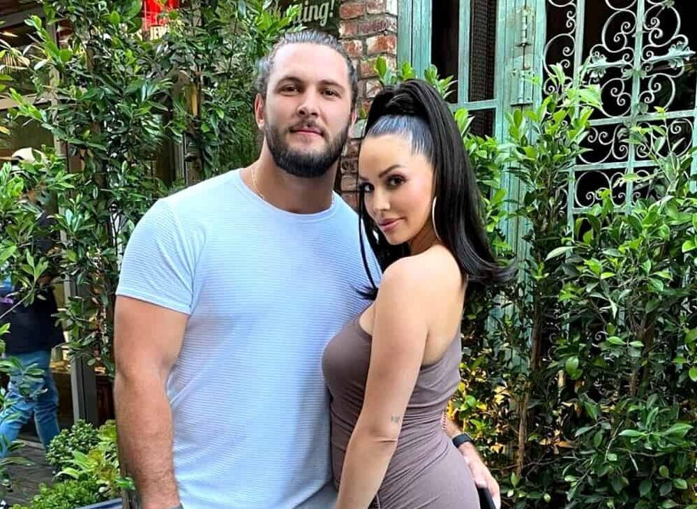 """Brock Davies Reveals Hardest Part of Filming Vanderpump Rules as Scheana Admits His Feud With Lala Kent Made It """"Difficult"""" to Stay on Good Terms"""