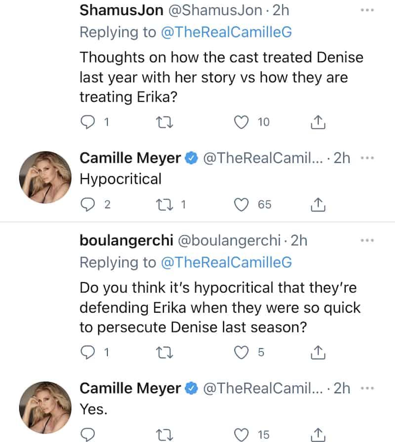 Camille Grammer Slams RHOBH Cast as Hypocritical