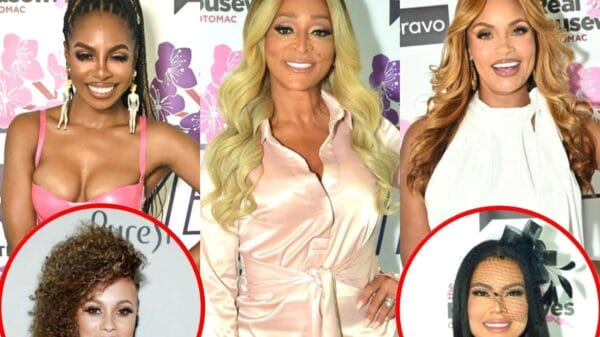 """RHOP's Candiace Dillard Accuses Karen Huger of """"Blowing Up Dust"""" With Gizelle Bryant, Reacts to Ashley Darby's Sex Revelation, and Admits She's Confused by Mia Thornton"""