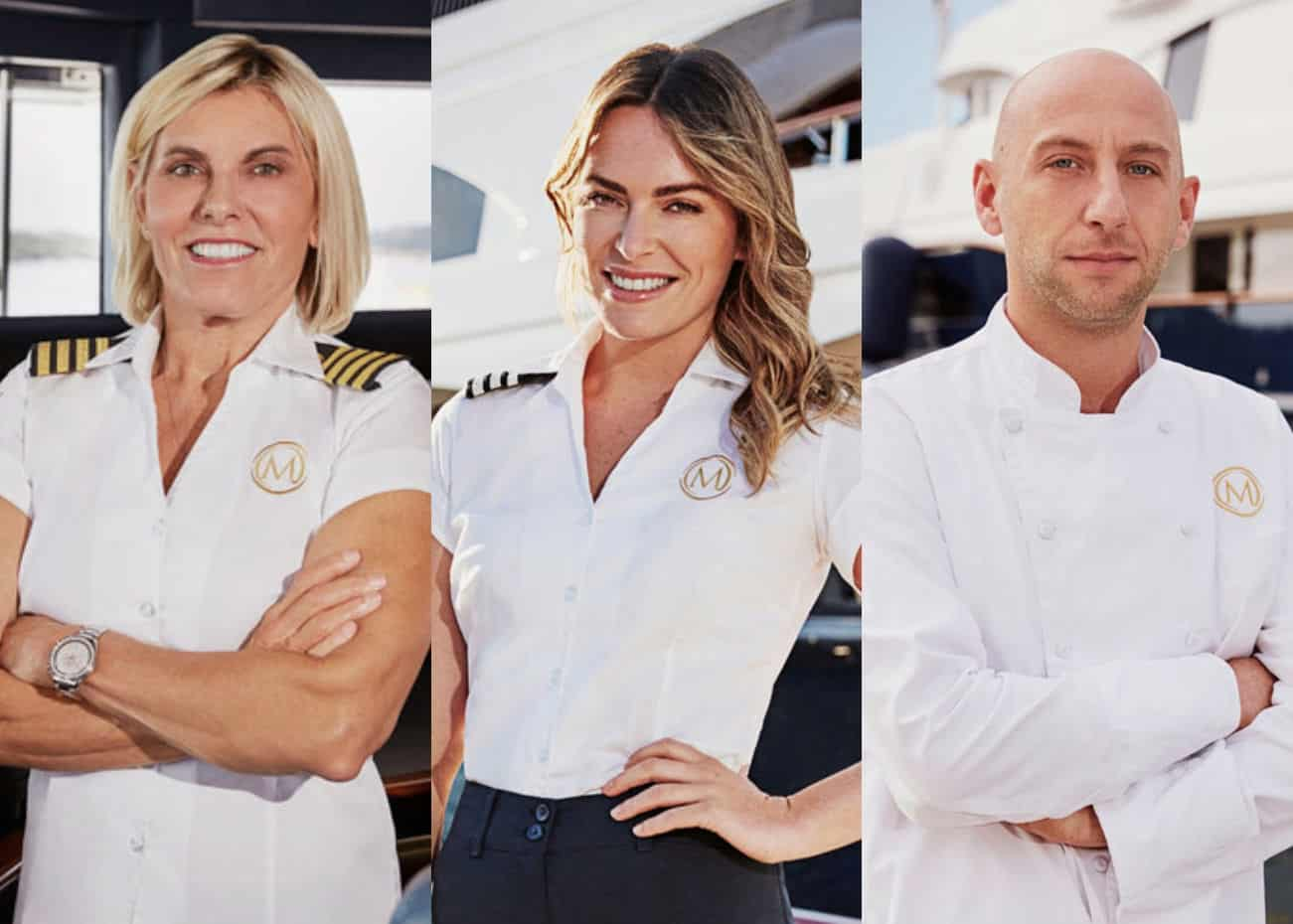 Captain Sandy Yawn and Katie Flood Shade Chef Mathew Shea and Dish on Their Below Deck Med Costars While Teasing Drama Ahead