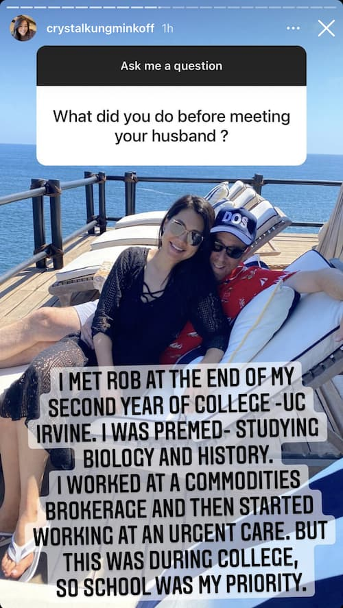 RHOBH Crystal Kung-Minkoff Reveals What She Did Before Marriage