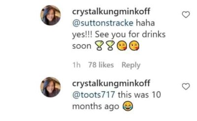 Crystal Minkoff Reacts To Suttons Hunky Dory Post scaled e1625763062753