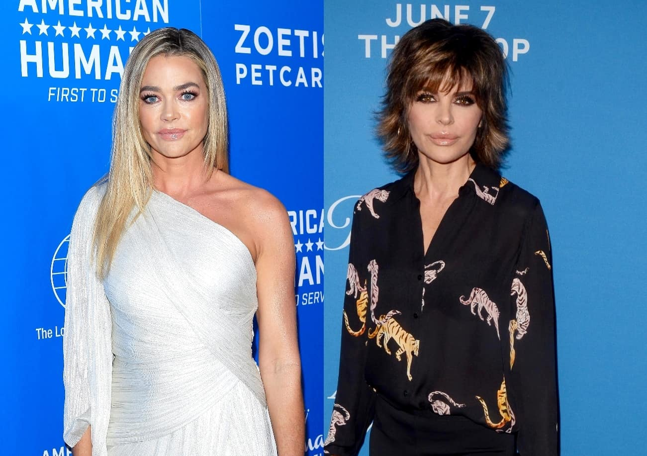 Denise Richards Addresses Claims of Lisa Rinna Firing Ultimatum to Return to RHOBH, Denies Hiding Her Life From Cameras