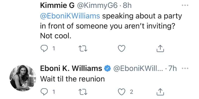 RHONY Eboni K. Williams Responds to Criticism Over RHONY Behavior