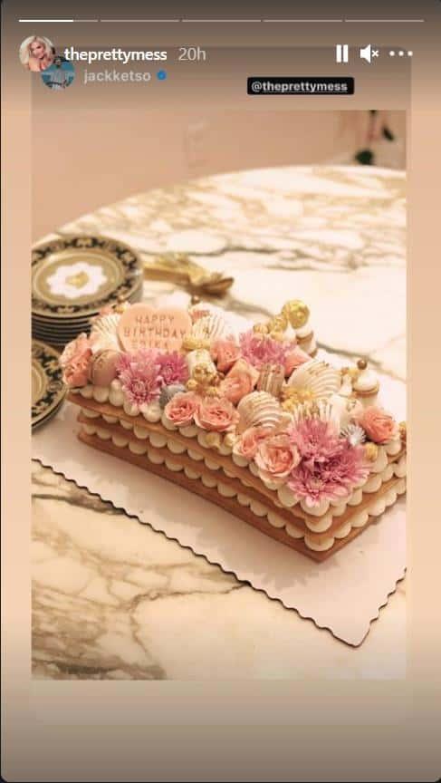 Erika Jayne 50th Birthday Cake
