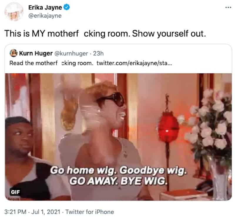 RHOBH Erika Jayne Refuses to Read the Room Amid Legal Drama