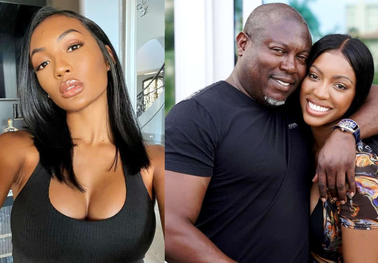 Falynn Guobadia Claims Ex Simon Told Her Porsha Williams Slept With His Cousin, Shades Their Relationship, and Reveals If She Ever Trusted RHOA Star, Plus She Denies Cheating Allegations