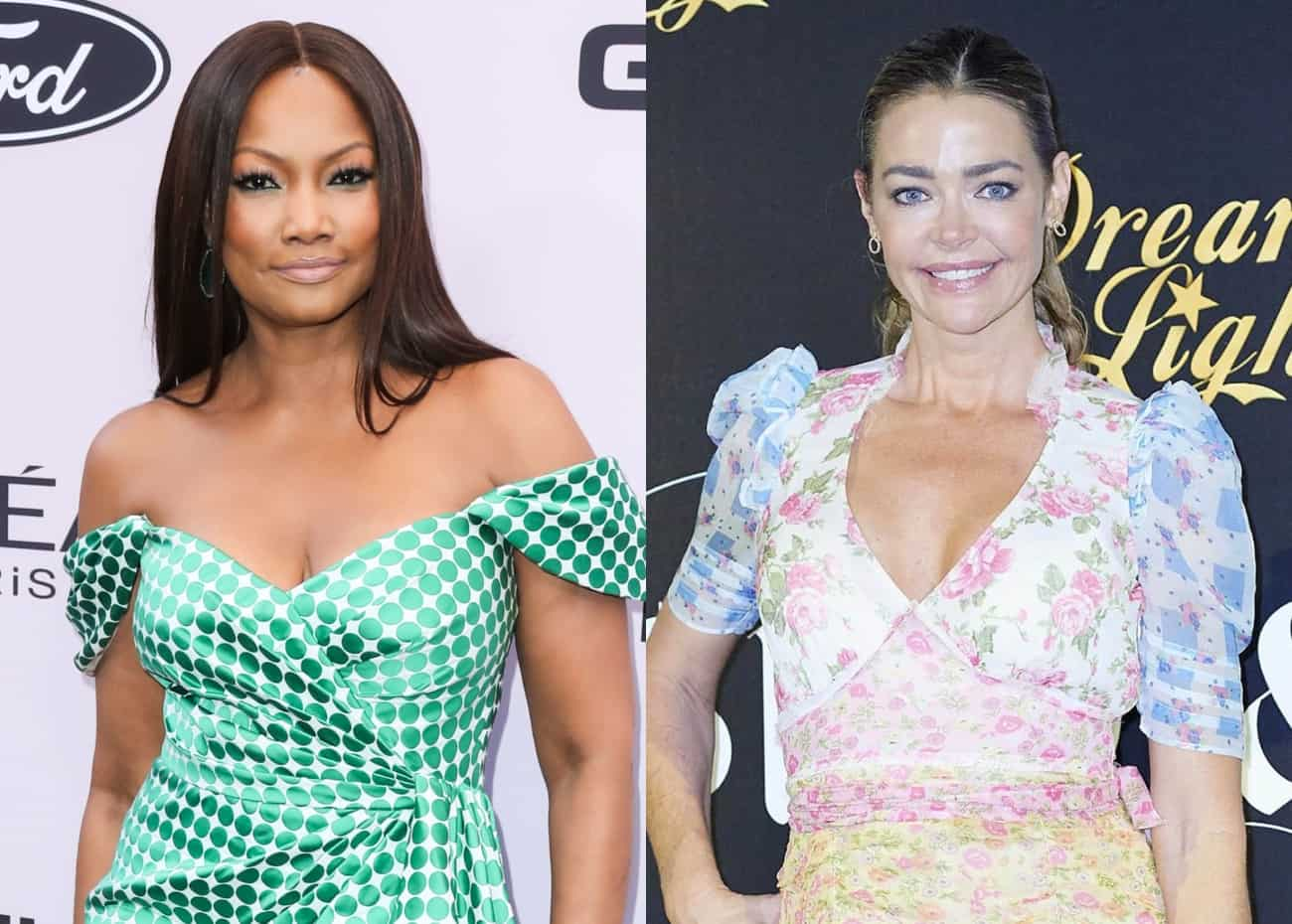 """Garcelle Beauvais Believes Denise Richards Would Return to RHOBH Under This One Condition, Says Crystal Went """"Too Far"""" in Feud With Sutton, and Talks Erika's Divorce"""