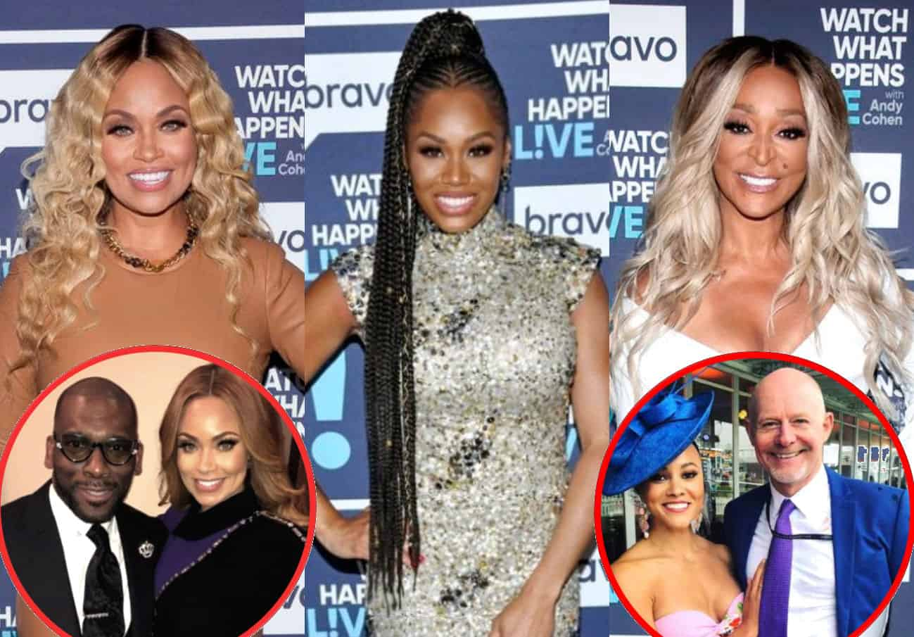 """RHOP's Gizelle Bryant Shares Jamal's Reaction to Monique's Binder, Slams Karen's """"Old and Stinky"""" Box, and Defends Michael Darby's Treatment of Ashley"""