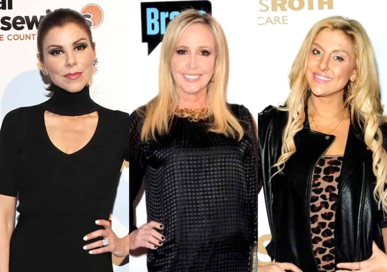 PHOTOS: Heather Dubrow Begins Filming RHOC Season 16 as Shannon Beador and Gina Kirschenheiter Meet Up For Fun Night Out