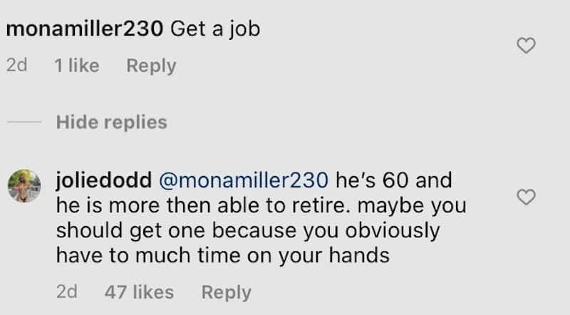 RHOC Jolie Dodd Defends Rick Leventhal Against Instagram Hater