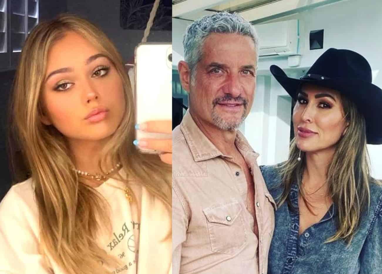 RHOC Alum Kelly Dodd's Daughter Jolie Defends Rick Leventhal After Fan Trolls Him as Kelly Reacts