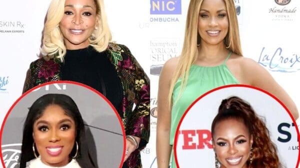 Karen Huger Slams Gizelle Bryant for Coming for RHOP Costars' Husbands, Dishes on Friendship With Wendy Osefo, Plus She Teases Reconciliation With Candiace Dillard