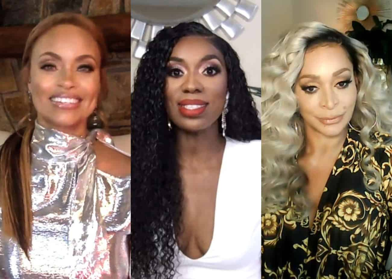 """RHOP Star Gizelle Bryant Dishes on Season 6 Drama With Wendy Osefo, Shares Where She First Heard """"Eddie Rumors"""" and Reveals Where She Stands With Karen Huger"""