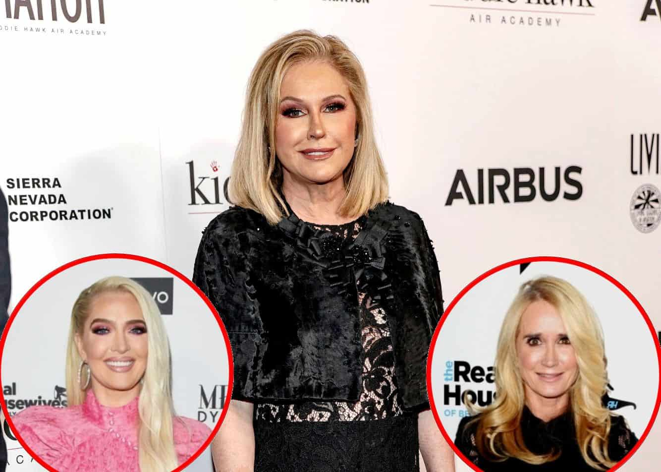 Kathy Hilton on Erika Jayne's Legal Drama, Reveals What It Would Take for Kim Richards to Return to RHOBH, Plus Her Relationship With Michael Jackson