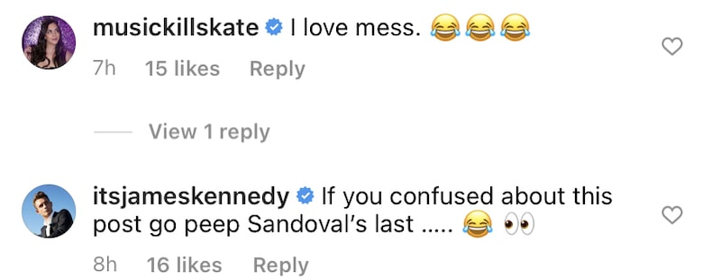 Vanderpump Rules Katie Maloney Responds to James Kennedy's Clap Back at Tom Sandoval