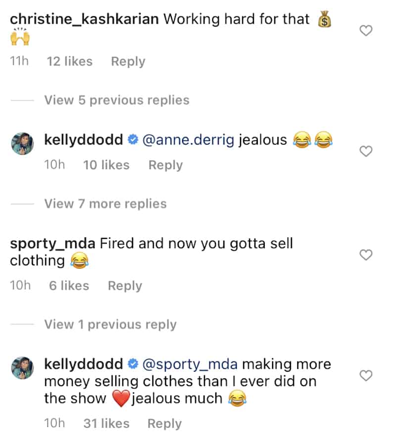 RHOC Kelly Dodd Claims She Makes More on Instagram Than With Bravo