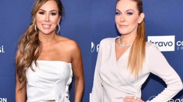 """Kelly Dodd Sarcastically Notes Leah McSweeney is on """"Right Side of History"""" Amid RHONY Backlash, Says Bravo Did Her a Favor by Firing Her From RHOC"""