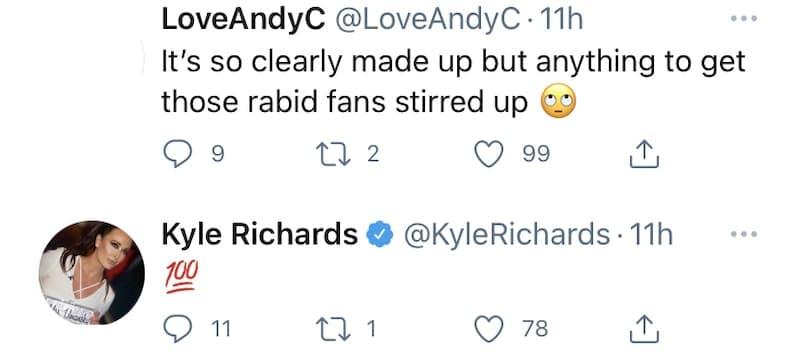 RHOBH Kyle Richards Agrees Lisa Vanderpump Likes to Stir Up Hatred on Twitter
