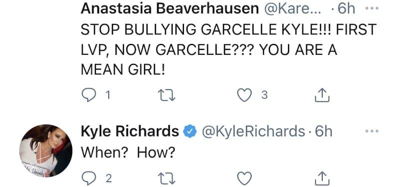 Kyle Richards Denies Bullying Garcelle Beauvais on RHOBH