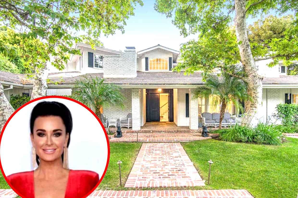 Kyle Richards Re-Sells $ 6.75 Mill Bel Air Home, Enters RHOBH Star's Faye Resnick-Designed Mansion