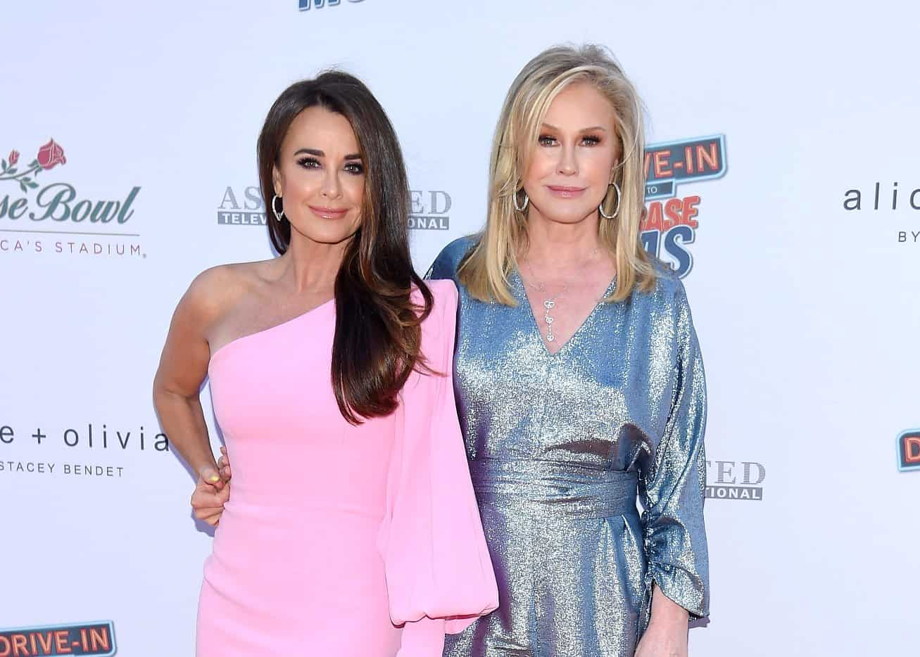 """RHOBH: Kathy Hilton Reflects On Feud With Sister Kyle Richards, Admits It """"Never Would've Happened"""" If Mom Was Alive"""