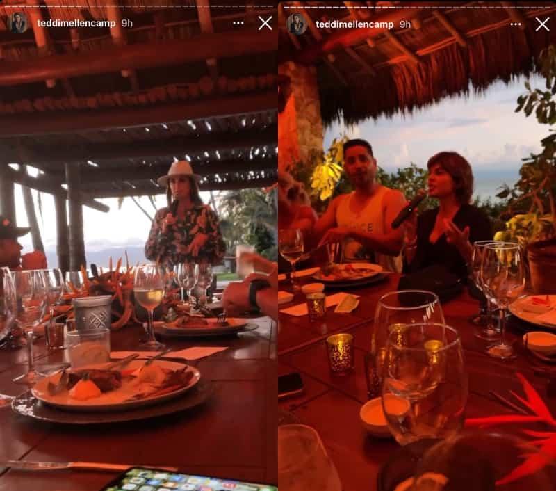 RHOBH Kyle Richards and Lisa Rinna Give Teddi Mellencamp Birthday Speeches