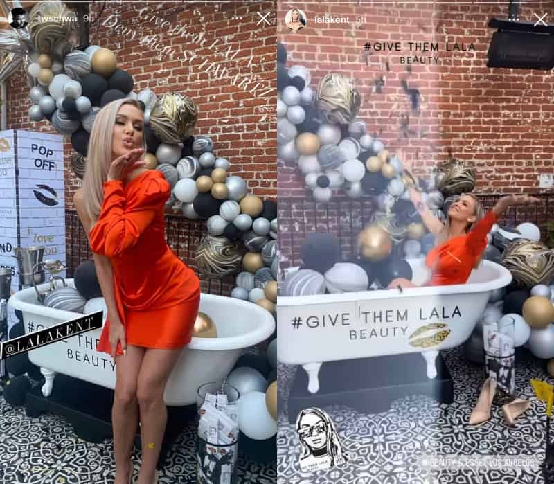 Vanderpump Rules Lala Kent Celebrates the Launch of Give Them Lala Beauty