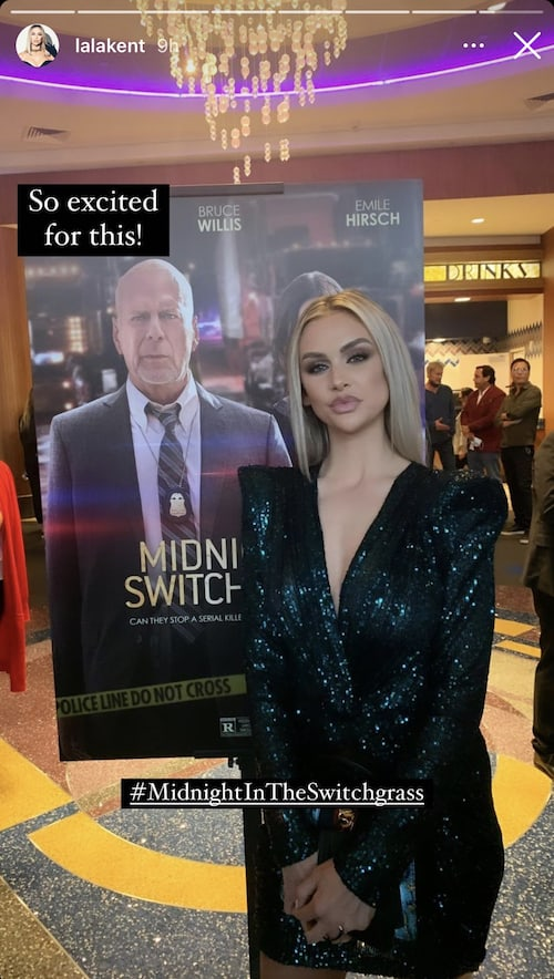 Vanderpump Rules Lala Kent Shades Megan Fox by Blocking Photo in Movie Poster