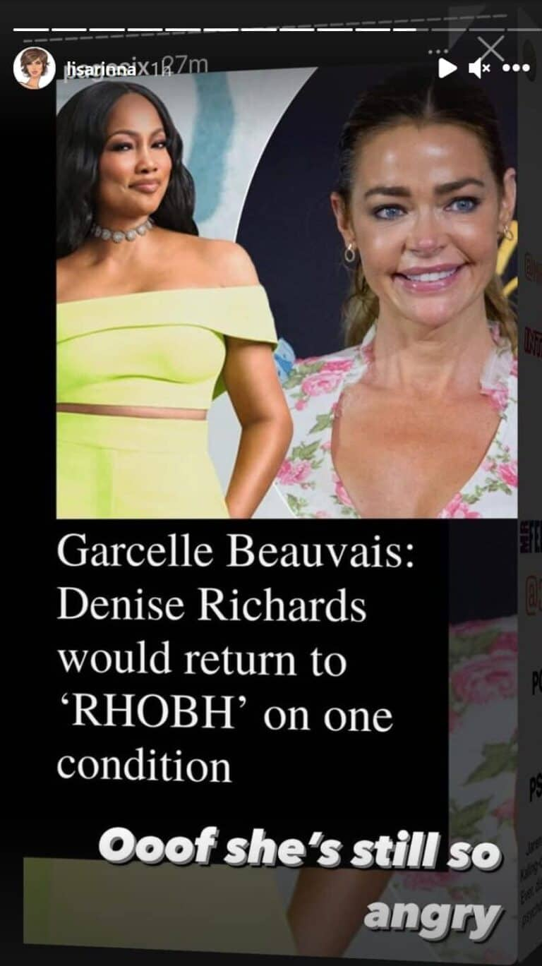 Lisa Rinna Reacts To Denise Richards Wanting Her Fired scaled e1625257952923
