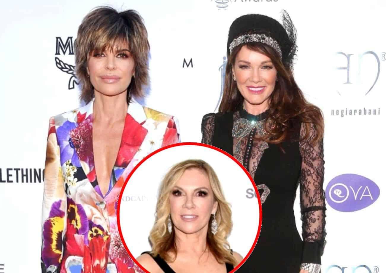 """RHOBH's Lisa Rinna Shades Lisa Vanderpump After Disturbing Lawsuit, Says Ramona Singer Should Be """"Protected"""" Amid RHONY Firing Rumors"""
