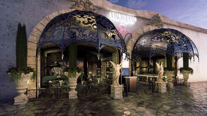 RHOBH Lisa Vanderpump's New Restaurant at the Paris in Las Vegas