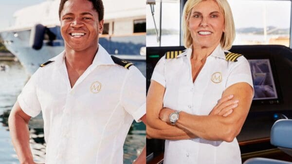 """Below Deck Med Star Mzi """"Zee"""" Dempers Admits Captain Sandy's """"Difficult to Read,"""" Talks Boatmances and Reveals If Show's Drama is Real"""