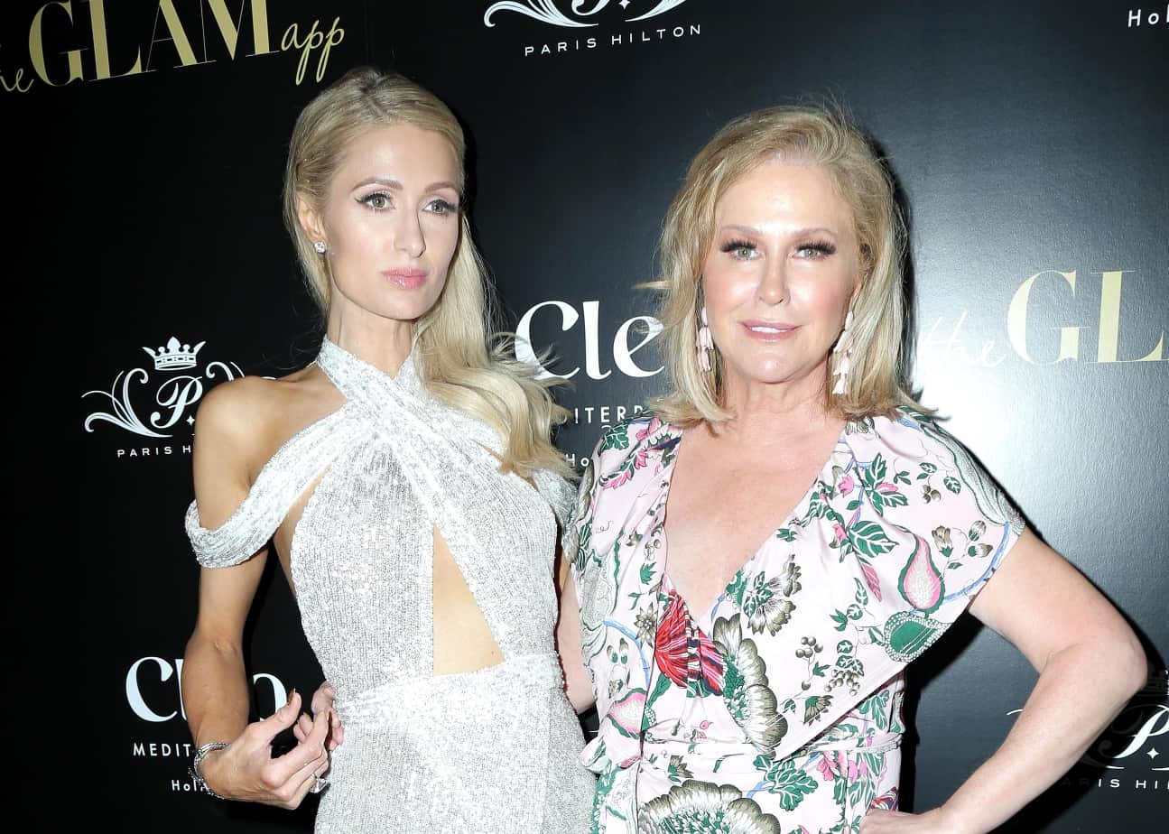 Kathy Hilton Admits She Went Into Depression After Daughter Paris' Documentary, Discusses RHOBH Martini Prank and Concept for New Show