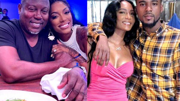 Porsha Williams Reacts to Falynn Guobadia's New Boyfriend Jalyan Banks After RHOA Alum Confirms Romance Following Cheating Allegations, Plus Simon Guobadia Gushes Over RHOA Star as They Film New Spinoff