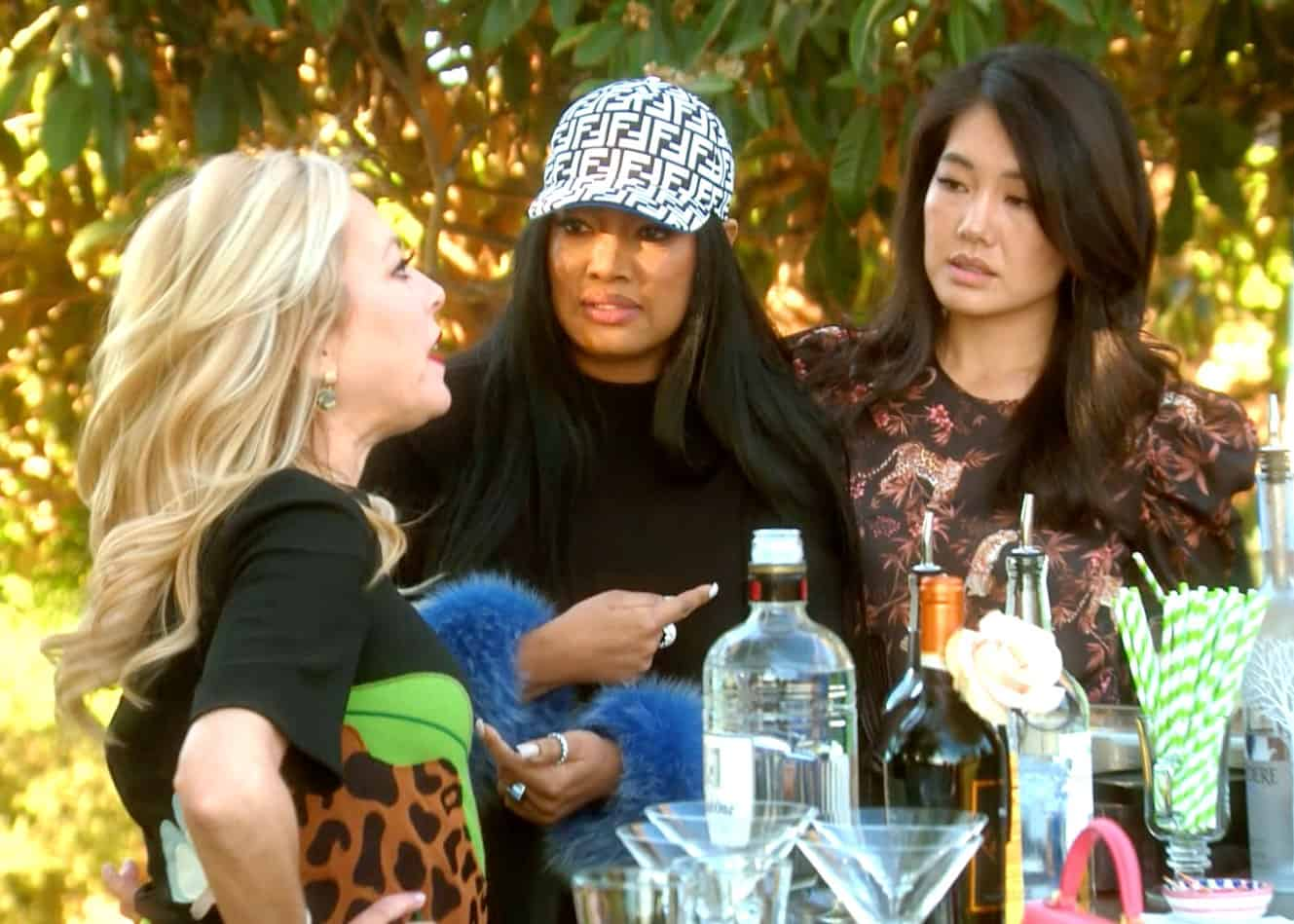 RHOBH Recap: A Bolognese Luncheon Leaves the Ladies in Shock as Sutton Storms Out in Anger