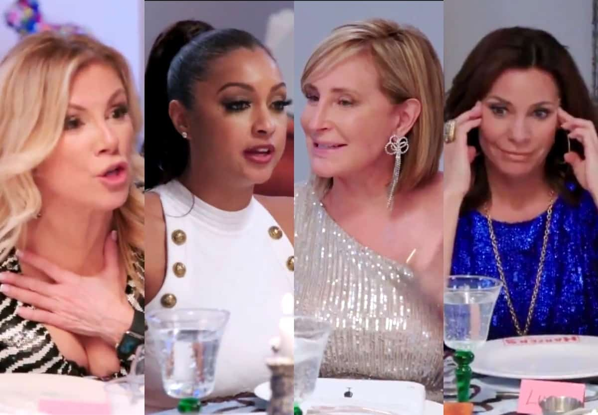 """VIDEO: Watch RHONY Midseason Trailer! Luann Slams Ramona as """"Tone Deaf"""" as Sonja and Eboni Call Her Out at Party"""