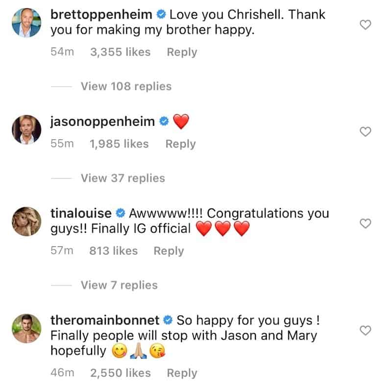 Selling Sunset Cast Reacts to Chrishell Stause and Jason Oppenheim Romance