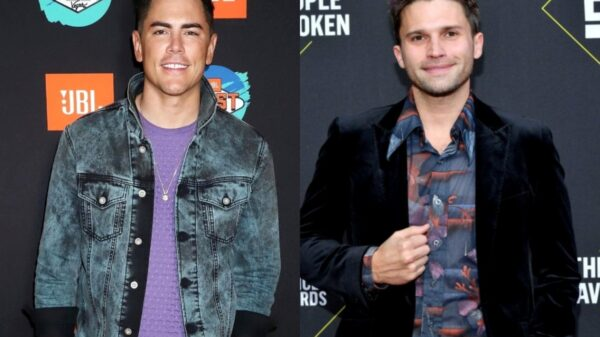 """Tom Sandoval Shades Tom Schwartz With """"Real Friends"""" Post as James Kennedy Reveals the """"Next Real Duo"""" of Vanderpump Rules, Plus Katie Maloney and Fans Weigh in"""
