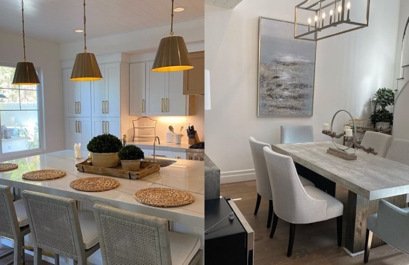 RHOC Vicki Gunvalson Shows Off New Home Kitchen and Dining Room