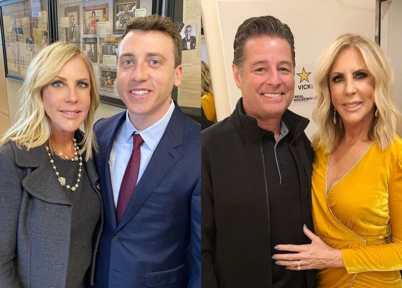 """Vicki Gunvalson's Son Michael Wolfsmith Shades Steve Lodge, Hopes RHOC Alum """"Doesn't Fund"""" His Campaign for Governor of California"""