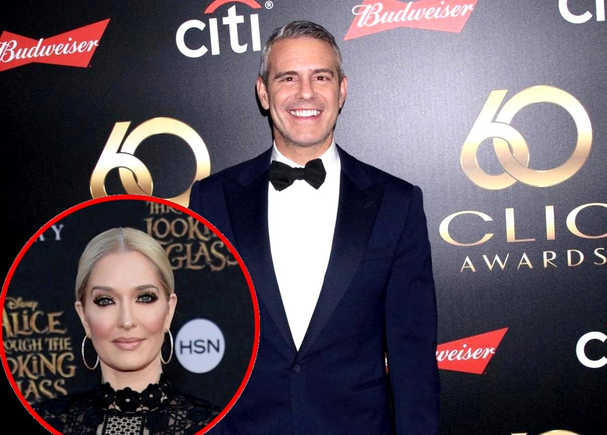 Attorney Asks Andy Cohen Questions About Erika Jayne's Finances and Over-the-Top Spending Ahead of RHOBH Reunion Taping