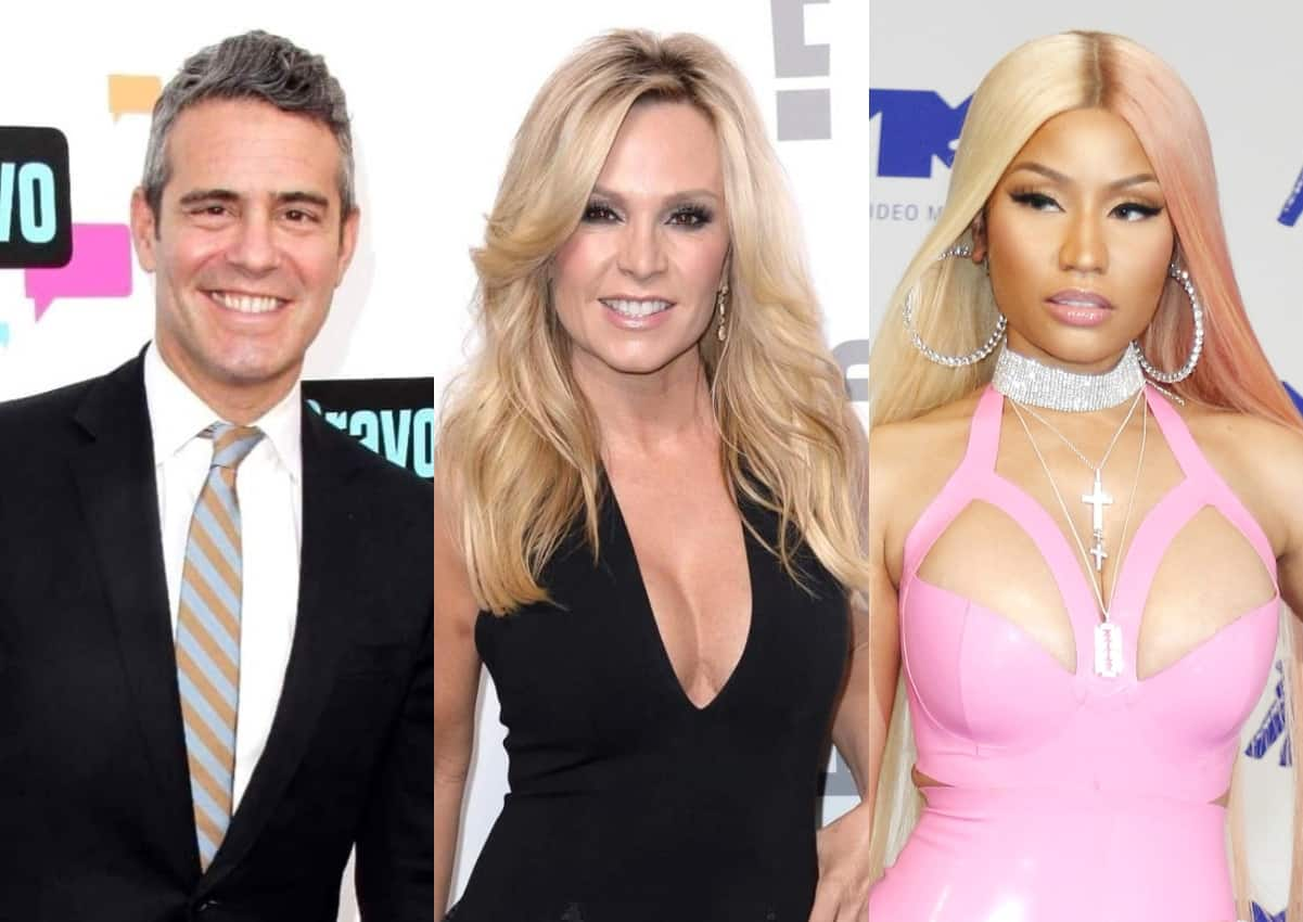 """Andy Cohen on RHONY """"Obstacles"""" and Cast Shakeup, will Tamra return to RHOC, and Nicki Minaj will host RHOP Reunion?"""