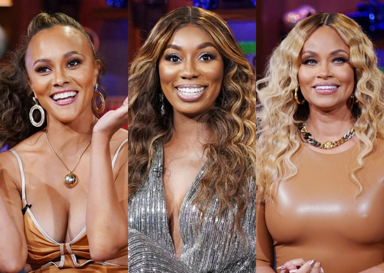 """RHOP: Ashely Darby Calls Wendy's Tirade Against Gizelle """"Trollish,"""" Suggests There's """"Rockiness"""" in Wendy's Marriage, Plus Teases Salad Toss Fight"""