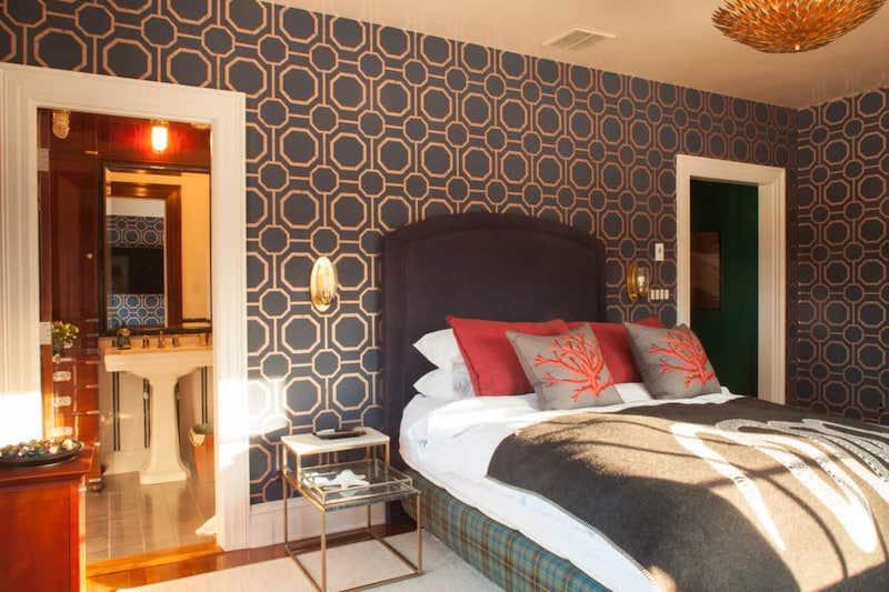 RHONY Dorinda Medley Bluestone Manor Bedroom
